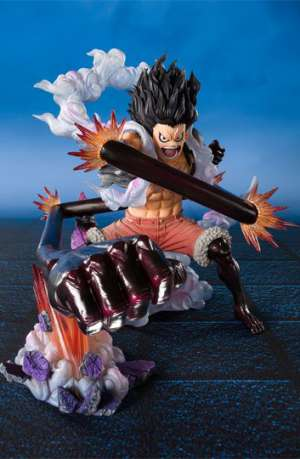 One Piece Figura FiguartsZERO Monkey D. Luffy Gear 4 Snakeman King Cobra 16 cm