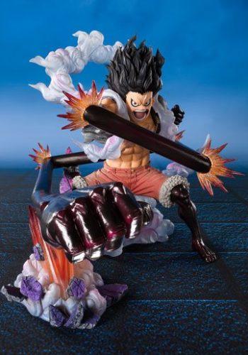 One Piece Figura FiguartsZERO Monkey D. Luffy Gear 4 Snakeman King Cobra 16 cm