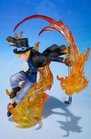One Piece Figura FiguartsZERO Sabo Fire Fist 19 cm