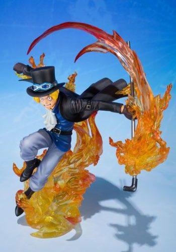 One Piece Figura FiguartsZERO Sabo Fire Fist 19 cm