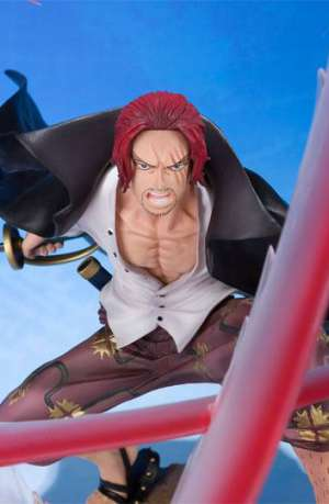 One Piece Figura FiguartsZERO Shanks Sovereign Haki 18 cm
