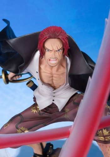 One Piece Figura FiguartsZERO Shanks Sovereign Haki 18 cm
