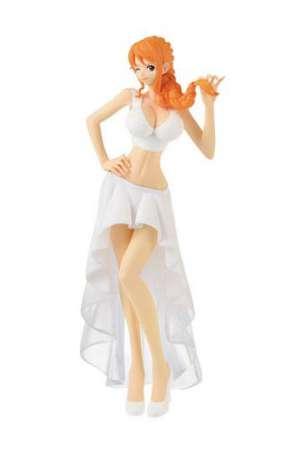 One Piece Figura Lady Edge Wedding Nami Normal Color 23 cm