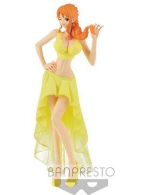 One Piece Figura Lady Edge Wedding Nami Special Color 23 cm