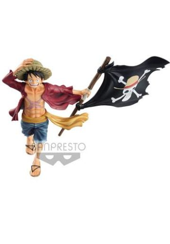 One Piece Figura magazine Monkey D. Luffy 22 cm