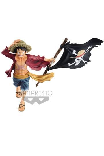 One Piece Figura magazine Monkey D. Luffy 22 cm