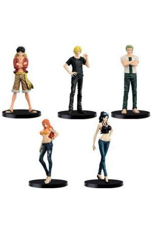 One Piece Figuras Jeans Freak Surtido Mugiwara Pirates Special Color Version 01