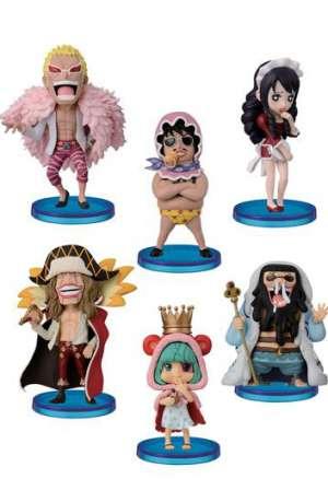 One Piece Figuras WCF ChiBi Surtido Donquixotes Family 10 01