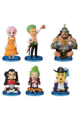 One Piece Figuras WCF ChiBi Surtido Dressrosa 4 01