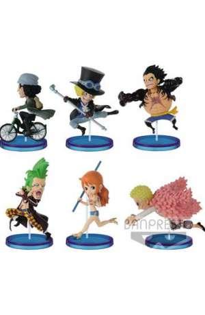One Piece Figuras WCF ChiBi Surtido History Relay 20th Vol 01