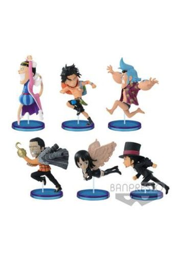 One Piece Figuras WCF ChiBi Surtido History Relay 20th Vol 01