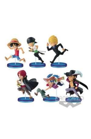 One Piece Figuras WCF ChiBi Surtido History Relay 20th Vol. 1 01