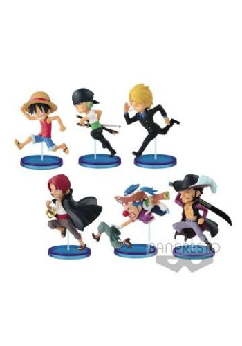 One Piece Figuras WCF ChiBi Surtido History Relay 20th Vol. 1 01
