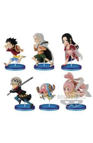 One Piece Figuras WCF ChiBi Surtido History Relay 20th Vol 4 01