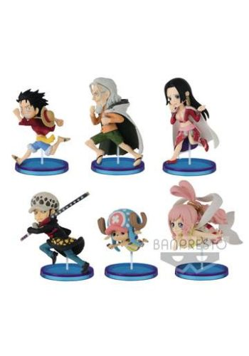 One Piece Figuras WCF ChiBi Surtido History Relay 20th Vol 4 01
