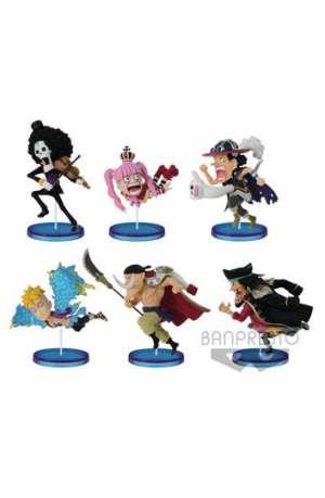 One Piece Figuras WCF ChiBi Surtido History Relay th Vol 01