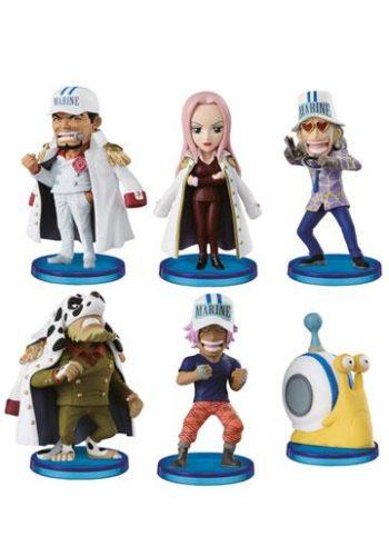 One Piece Figuras WCF ChiBi Surtido Navy Army 01