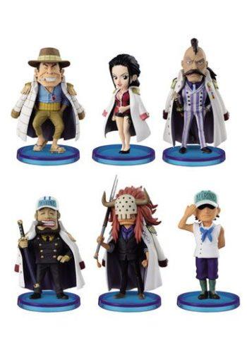 One Piece Figuras WCF ChiBi Surtido Navy Army II 01