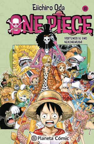 One Piece manga Tomo 81
