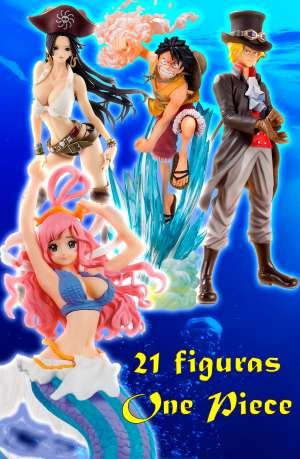 Pack 21 Figuras One Piece Gran Coleccion 01