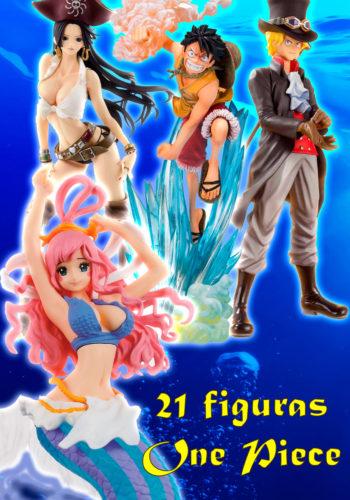 Pack 21 Figuras One Piece Gran Coleccion 01