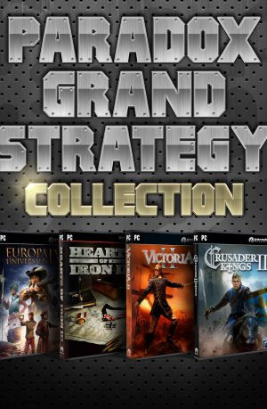Paradox Grand Strategy Pack PC Portada