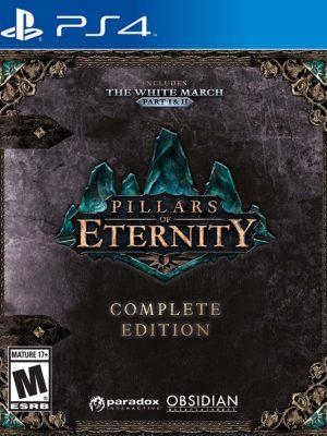 Pillars of Eternity Complete Edition PS4 Portada