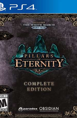 Pillars of Eternity Complete Edition PS4 Portada