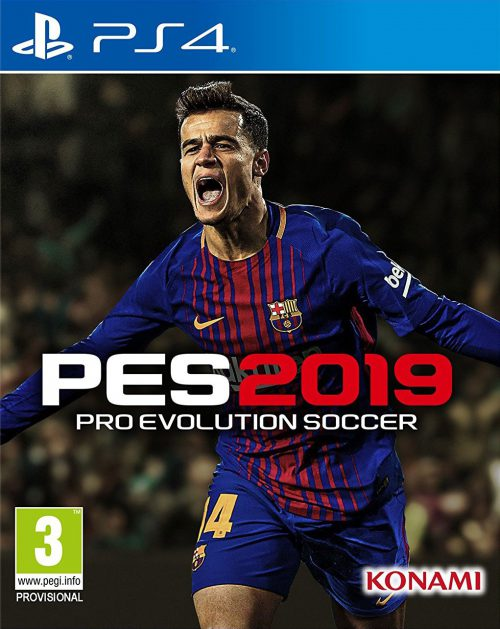 Pro Evolution Soccer 2019 PS4 Portada