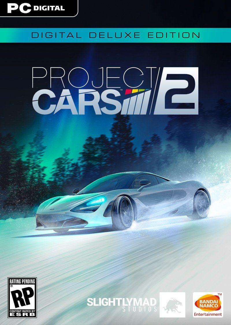 Project Cars 2 LTD PC Portada