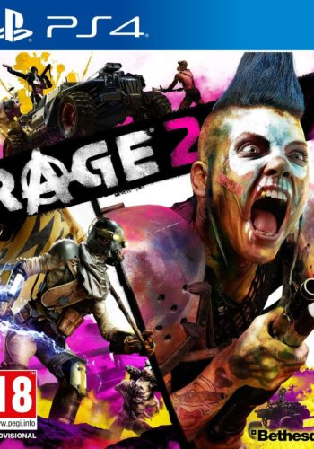 Rage 2 PS4 Portada
