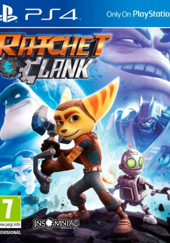 Ratchet & Clank PS4 Portada