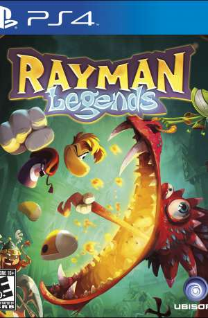 Rayman Legends Hits PS4 Portada