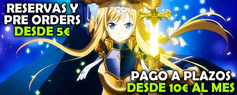 Reservas Pre Orders Anime