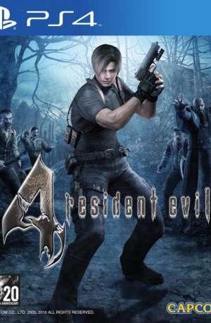 Resident Evil 4 HD PS4 Portada