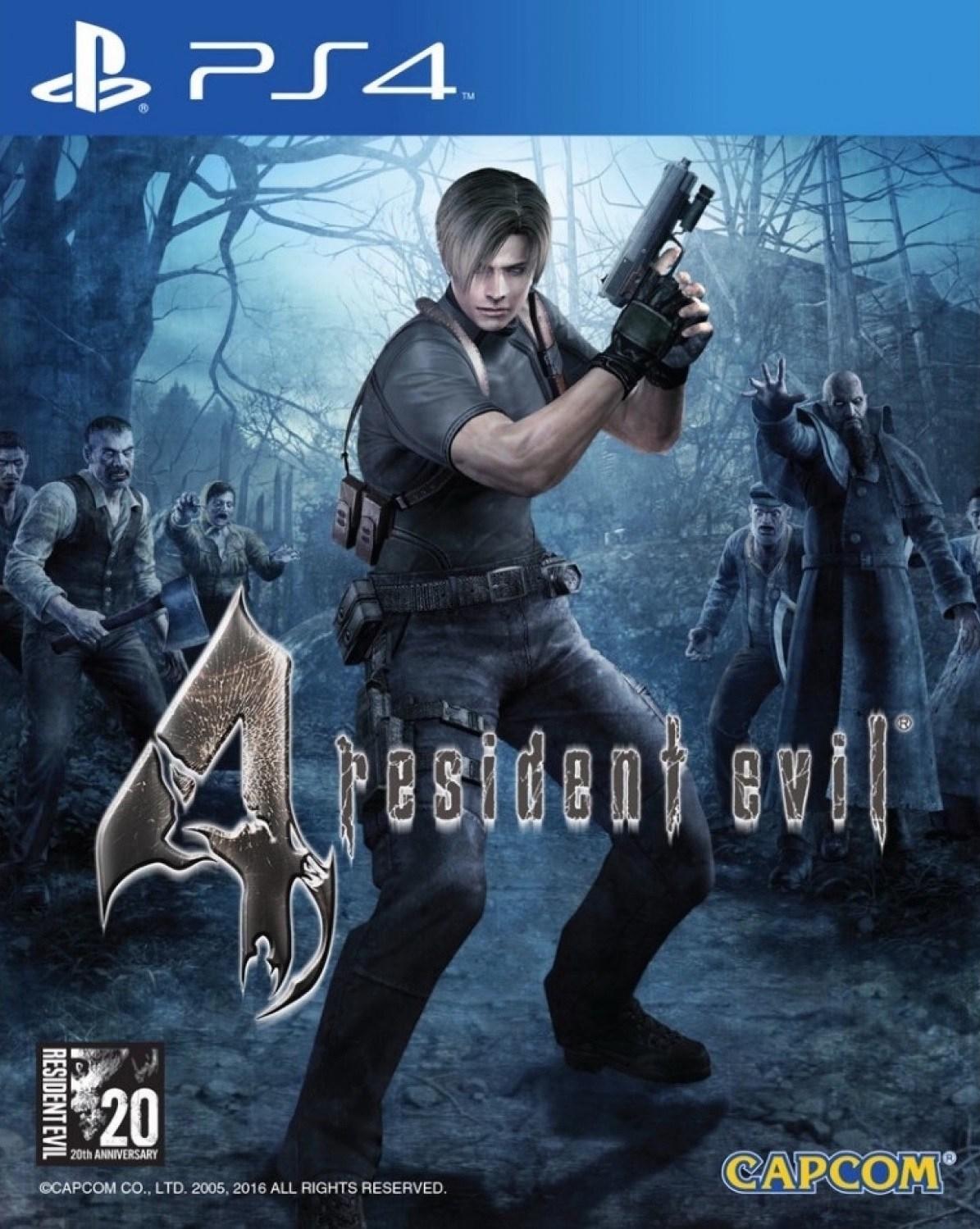 Resident Evil 4 Hd Ps4 Anime Cristal Tienda De Videojuegos Online