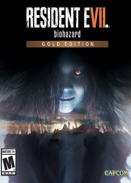 Resident Evil VII Biohazard Gold edition PC Portada