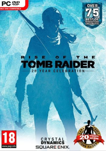 Rise of the Tomb Raider 20 aniversario PC Portada