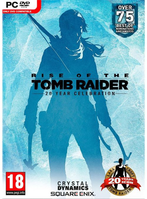 Rise of the Tomb Raider 20 aniversario PC Portada
