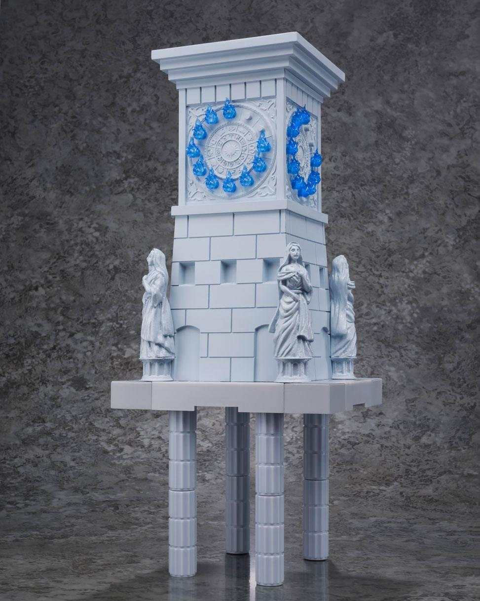Saint Seiya Figura D.D.P. Diosa Atena mas Soldados y Reloj de Fuego del Santuario 04