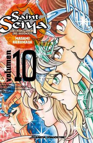 Manga Saint Seiya Los Caballeros del Zodiaco Tomo 10