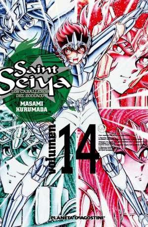 Manga Saint Seiya Los Caballeros del Zodiaco Tomo 14