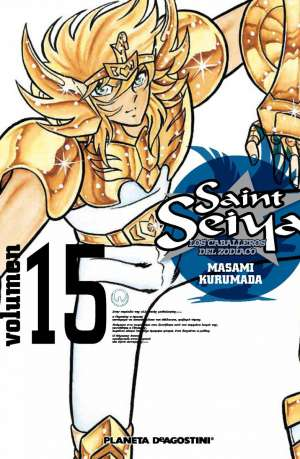 Manga Saint Seiya Los Caballeros del Zodiaco Tomo 15