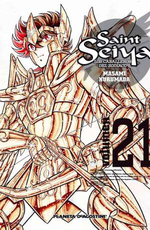 Saint Seiya Los Caballeros del Zodiaco Tomo 21