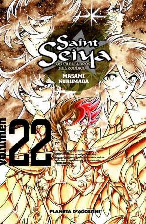 Manga Saint Seiya Los Caballeros del Zodiaco Tomo 22
