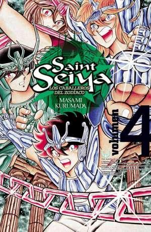 Manga Saint Seiya Los Caballeros del Zodiaco Tomo 04