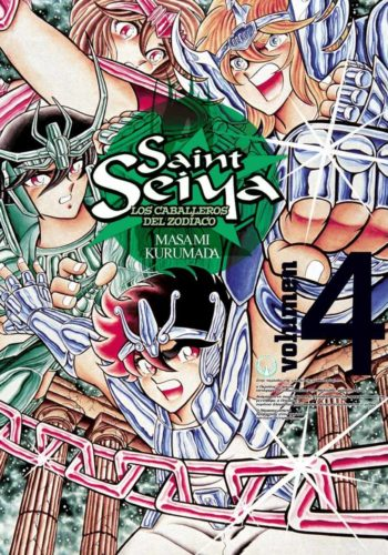 Saint Seiya Los Caballeros del Zodiaco Tomo 4