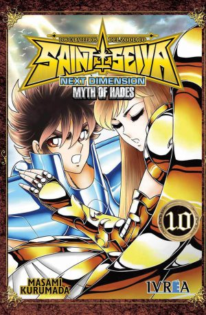 Manga Saint Seiya Next Dimension Myth of Hades Tomo 10