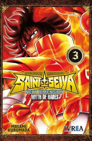 Manga Saint Seiya Next Dimension Myth of Hades Tomo 03