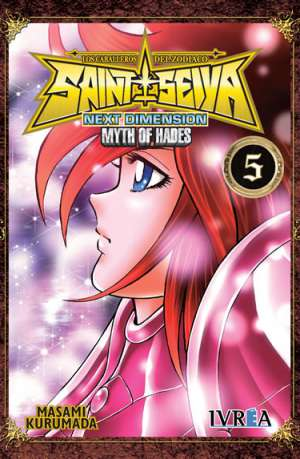 Manga Saint Seiya Next Dimension Myth of Hades Tomo 05
